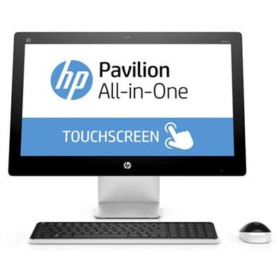 Pavilion 23-q140 23` AMD A10-8700P All-in-One Desktop PC - OPEN BOX