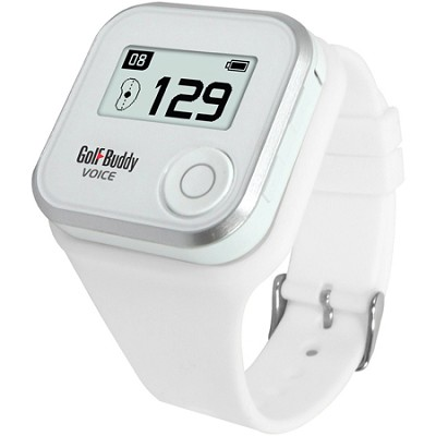 Wristband for GolfBuddy GPS Rangefinder Voice, Small, White