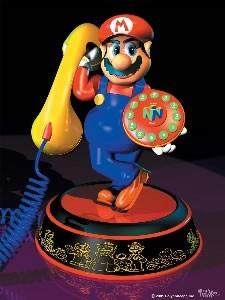 Super Mario 64 Voice Activated Telephone ( 841-245 )