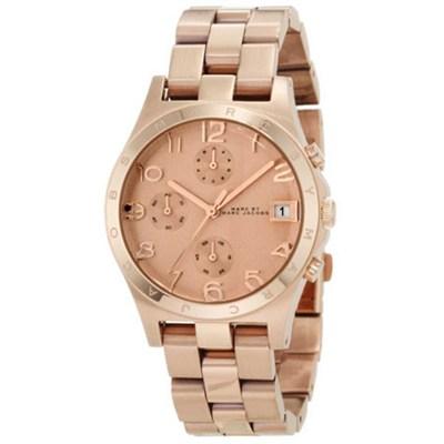 Women's 'Henry' Chronograph Rose Goldtone Watch - MBM3074