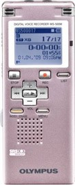 WS-500 Digital Voice Recorder (Pink)