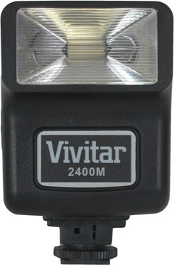 2400m Flash for Cameras With hotshoe connection (bracket NOT included)