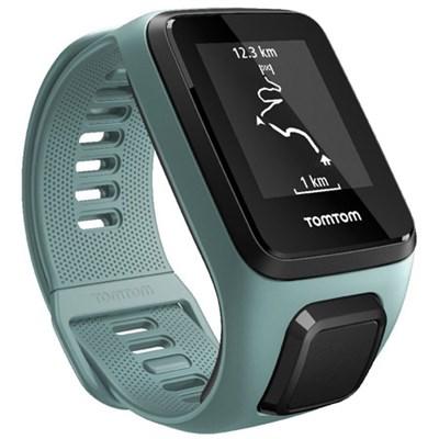 Spark 3, GPS Fitness Watch and Activity Tracker (Aqua, Small) (OPEN BOX)