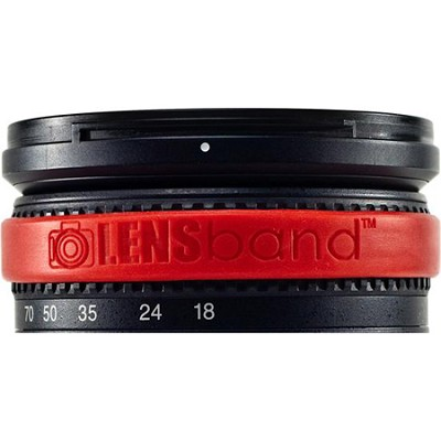 Stop Zoom Creep for One Size Fits All Lens - Red