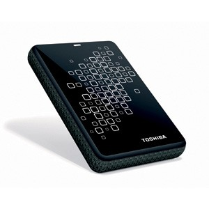Canvio 3.0 750GB External USB 3.0 Hard Drive - Black/White