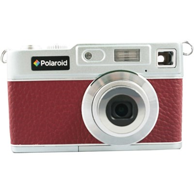 Polaroid iE827 Retro Digital Camera - Red