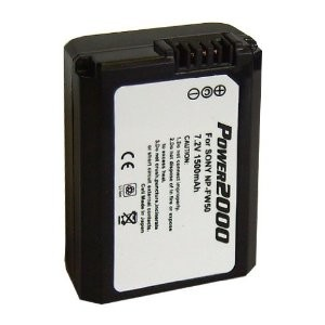 InfoLithium H Series NP-FW50 Camera battery for DSCHX1 and Select Alpha SLRs