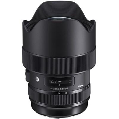 14-24mm f/2.8 DG HSM Art Lens Full Frame Ultra Wide Angle Sigma SA Mount 212956