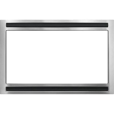 27'' Microwave Trim Kit in Black Stainless - MWTK27KF