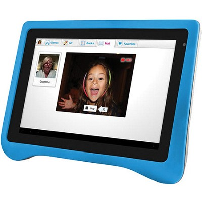 Multi-Touch 7` 4GB Kid's FunTab Tablet with Kid Friendly Android 4.0