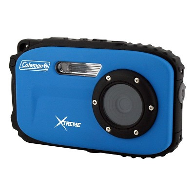 Xtreme C5WP 12MP 33ft. Waterproof Camera, Anti-Shake, Face Detection (Blue)
