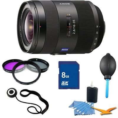 SAL1635Z - Sony System 16-35mm F/2.8 ZA SSM Lens Essentials Kit