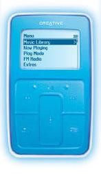 Zen Micro {Light Blue} 5gb MP3 Player