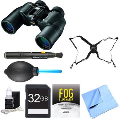 ACULON 10x50 Binoculars (A211) Adventure Bundle