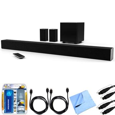 SB4451-C0 SmartCast 44` 5.1 Sound Bar System w/ Essential Accessory Bundle