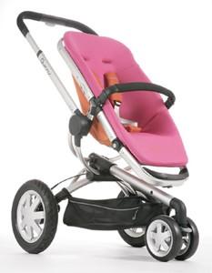 Buzz 3 Wheel Stroller (Pink)