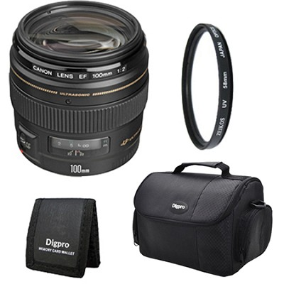 EF 100mm F/2.0 USM Lens Exclusive Pro Kit