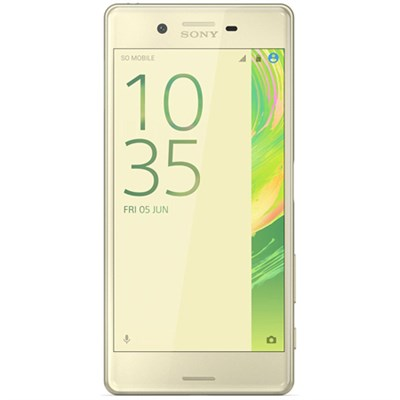 Xperia X 32GB 5-inch Smartphone, Unlocked - Lime Gold