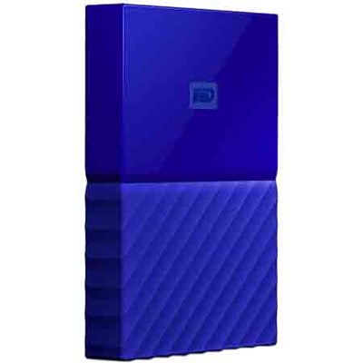 WD 3TB My Passport Portable Hard Drive - Blue