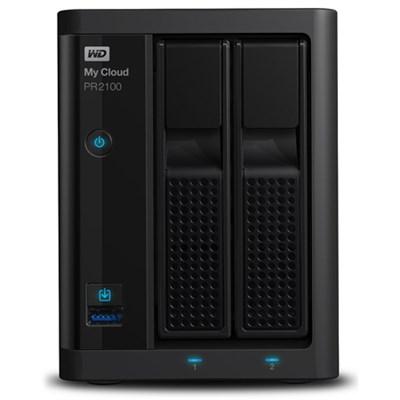 16TB My Cloud Pro Series PR2100 Media Server with Transcoding