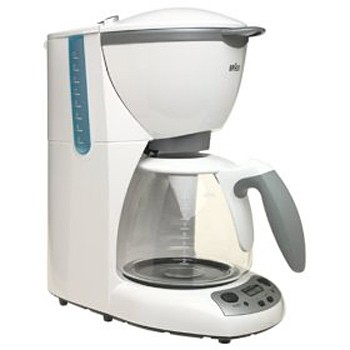 Braun Aroma Deluxe Coffee Maker : BuyDig.com - Braun AromaDeluxe Time Control Coffee Maker - KF580W