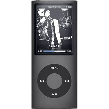 iPod Nano 4th Generation 8GB MP3 Player - Black