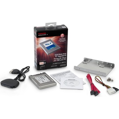 2.5-Inch 256GB Solid State Drive PC Upgrade Kit HDTS225XZSWA