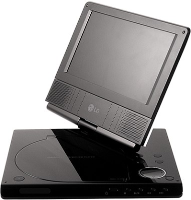 DP771 - Portable DVD Player w/ 7-inch Swivel LCD - OPEN BOX
