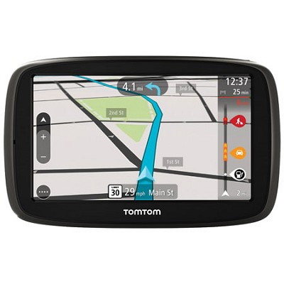 GO 50 Portable 5` Inch Touch Screen Vehicle GPS