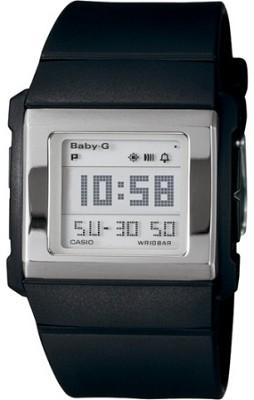 BG2000-1 - Baby-G Black Slim Square Watch