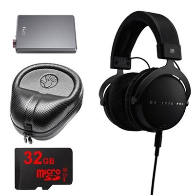 DT 1770 PRO Headphones w/ FiiO A5 Headphone Amplifier Bundle