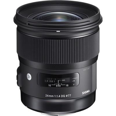 24mm f/1.4 DG HSM Wide Angle Lens (Art) for Canon DSLR Camera Mount