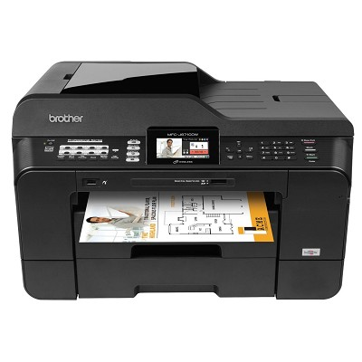 MFCJ6710DW Inkjet All-in-One Printer with 11-Inch x 17-Inch Duplex Printing