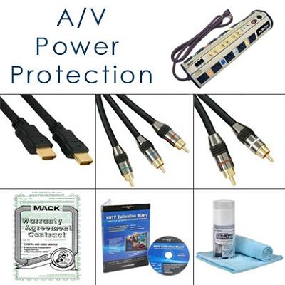 HDTV Essentials Super Savings Bundle (Cables, Power, Warranty Extention, Plus..)