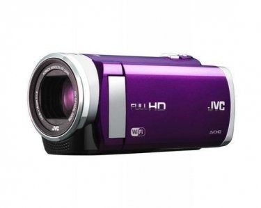 GZ-EX210BUS - HD Everio f1.8 40x Zoom 3.0` Touch LCD WiFi (Violet) - Refurbished