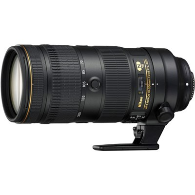 AF-S NIKKOR 70-200mm f/2.8E FL ED VR Zoom Lens (20063)