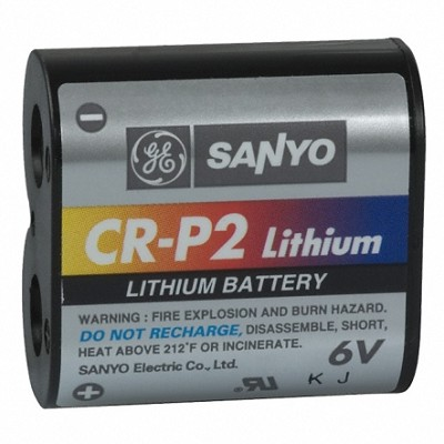 CRP2 6V Lithium Battery