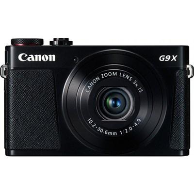 PowerShot G9 X Digital Camera w/ 3x Optical Zoom, Wi-Fi and 3 inch LCD - Black