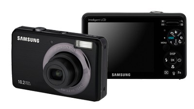 SL202 10MP/ 3X OPT/ 2.7` LCD Digital Camera (Black)