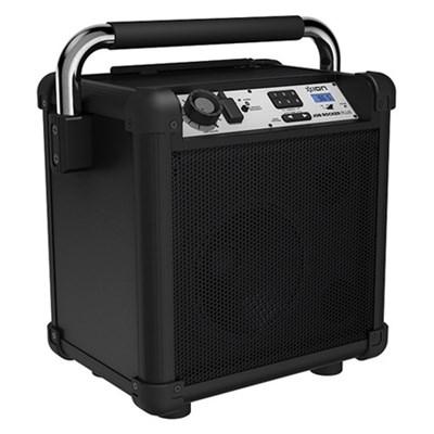 Job Rocker Plus Bluetooth Portable Jobsite Sound System Black