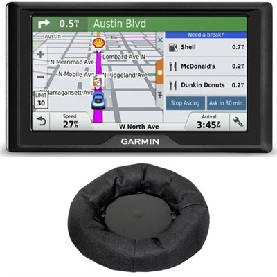 Drive 50LM GPS Navigator (US and Canada) 010-01532-07 Dashboard Mount Bundle