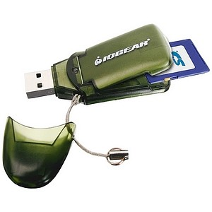 Hi-Speed USB 2.0 Memory Card Reader/Writer (SD/MMC Memory Cards) Supports 8GB