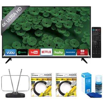 D50u-D1 D-Series 50-Inch 4K Ultra HD LED Smart HDTV with Accessories Kit