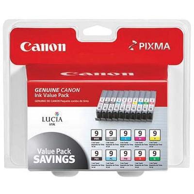 PGI-9 10-ink Combo Value Pack for PIXMA iX7000, MX7600, Pro9500, Pro9500 Mark II