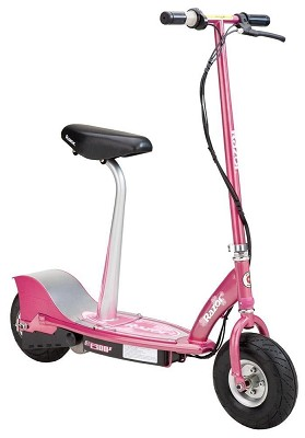 E300S Seated Electric Scooter - Sweet Pea - 13116261 - OPEN BOX