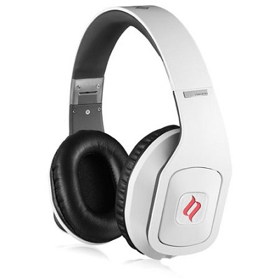 Hammo Over Ear Stereo Hi-Fi Stereo Headphones (White)