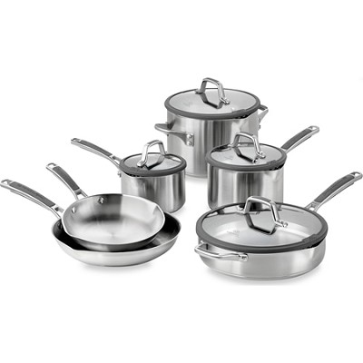 Easy System Stainless 10 Piece Cookware Set - 1841294