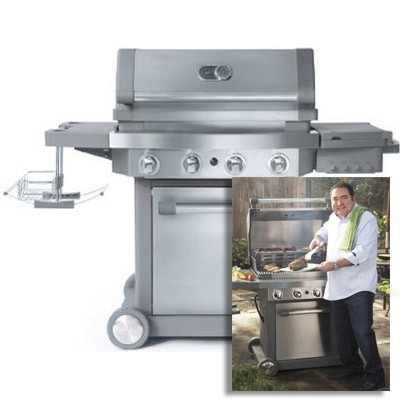 Viking emeril outdoor gas grill w 589 sq in for Viking outdoor grill