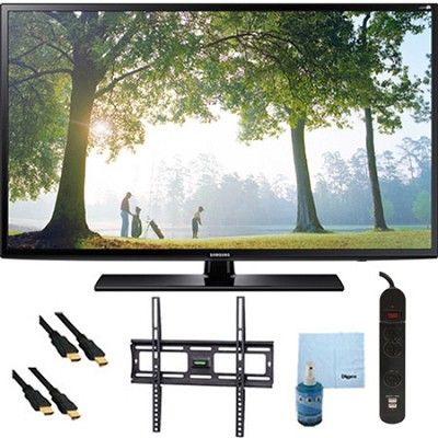 UN46H6203 - 46-Inch 120hz Full HD 1080p Smart TV Plus Mount & Hook-Up Bundle