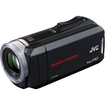 GZ-R70B 32GB Built-In Memory Quad Proof HD Touchscreen Camcorder - OPEN BOX